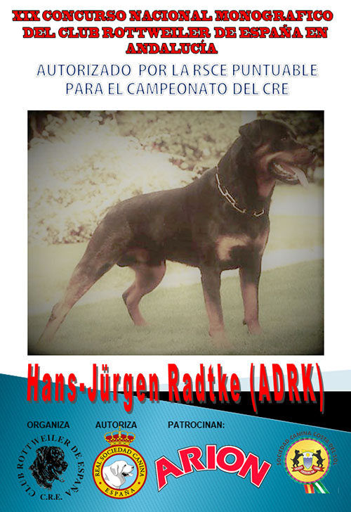 CAMPEONATO ANDALUCIA DEL CRE 2018